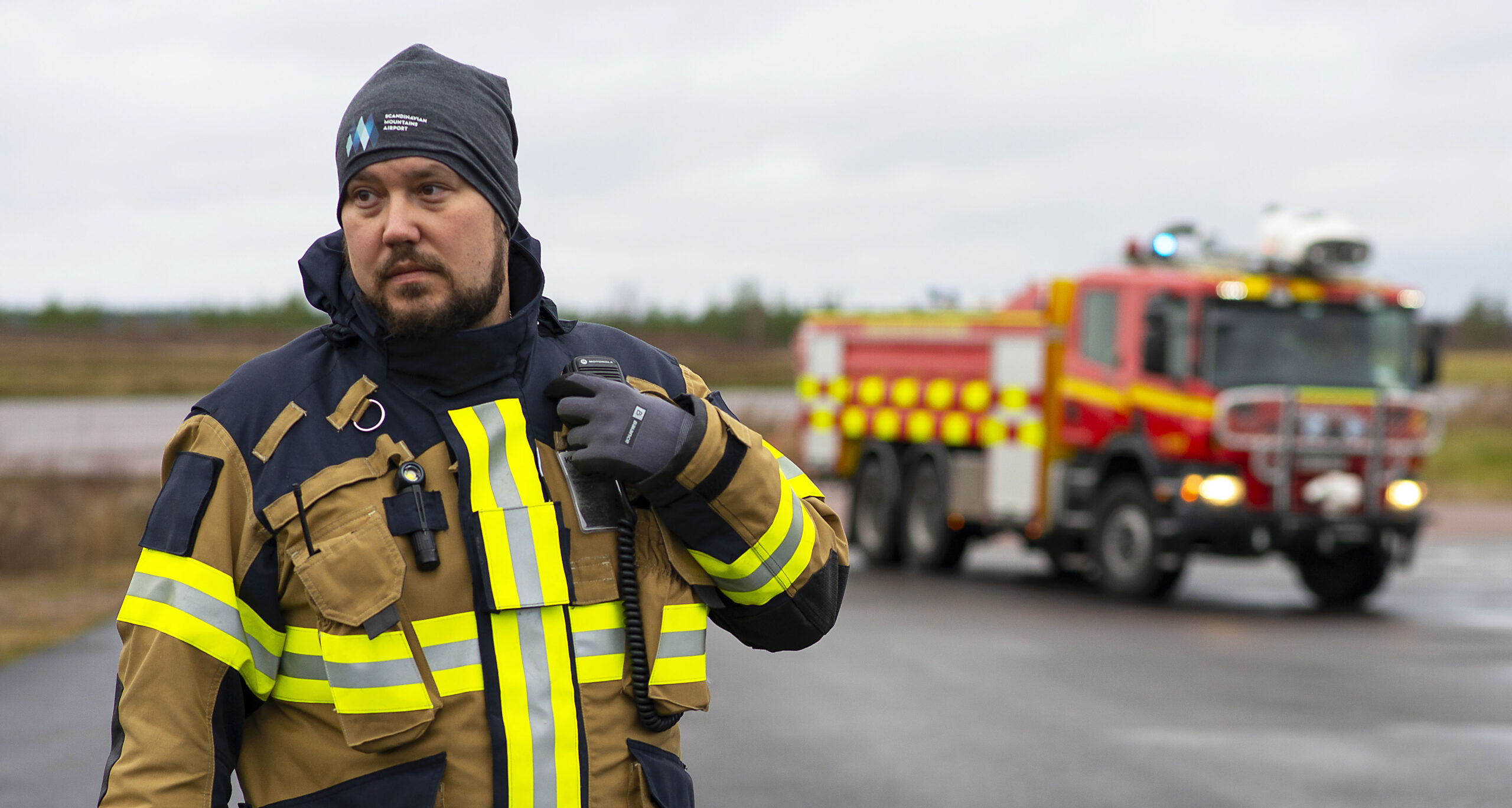 Insatsledarutbildning vid Karlstad Airport, examensdag