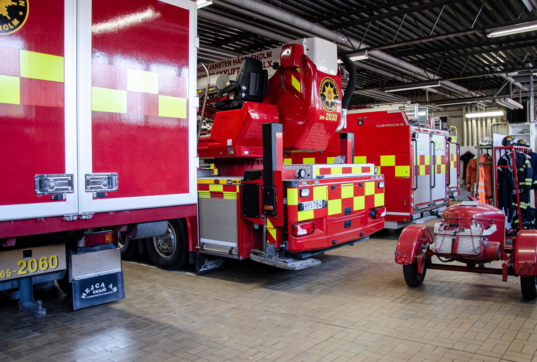 Vagnshallen hor räddningstjänsten Hässleholm, Swedish Firefighters, www.firefighters.se